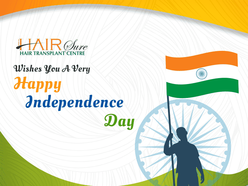Best hair sure wishes you a happy independence day