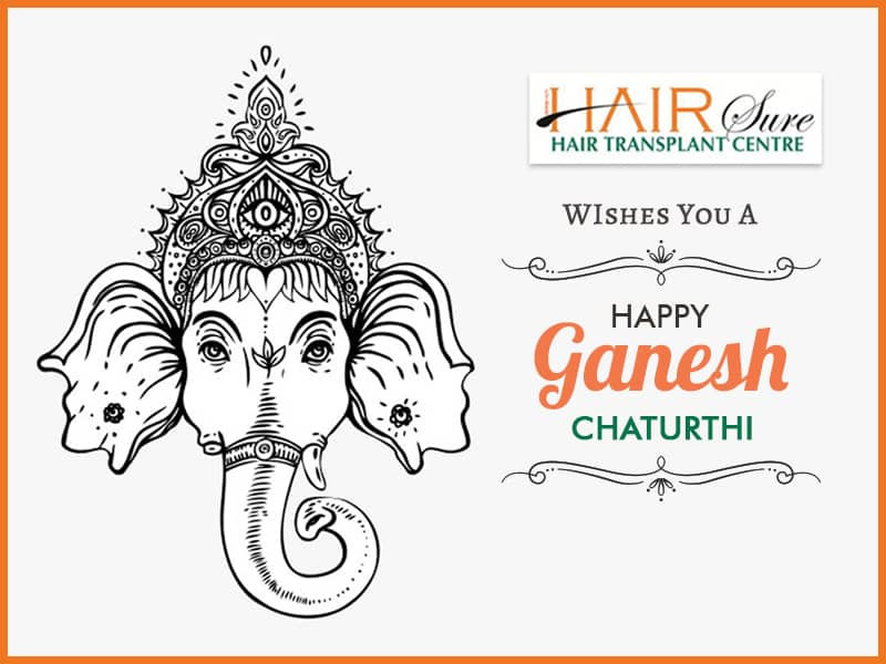 Best Hairsure Wishes You A Happy Ganesh Chaturthi