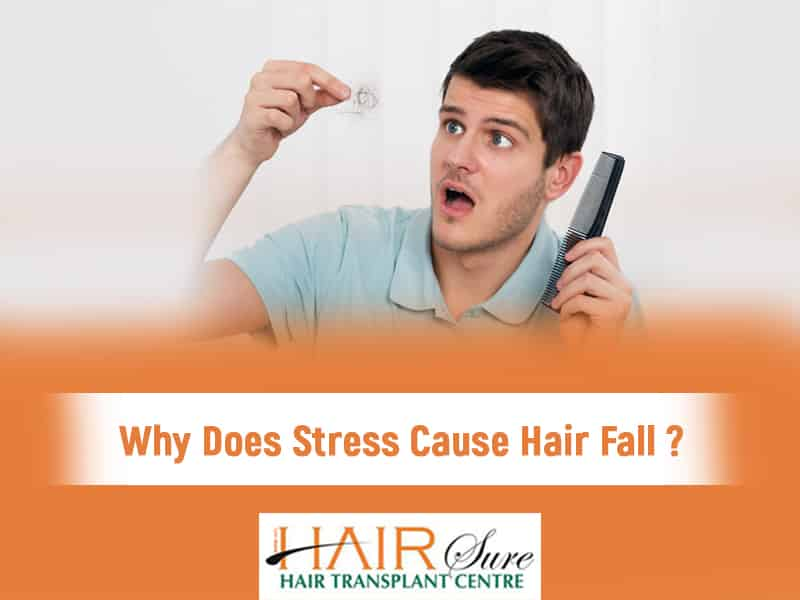 Why Does Stress Cause Hair Fall ?