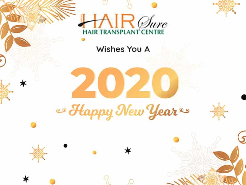 We Wish All Your Dreams Come True This New Year – Best Hair Transplant Center