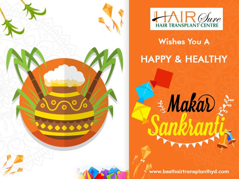 We Wish A New Beginning Of Happiness & Joy This Makar Sankranti – Best Hair Transplant Center