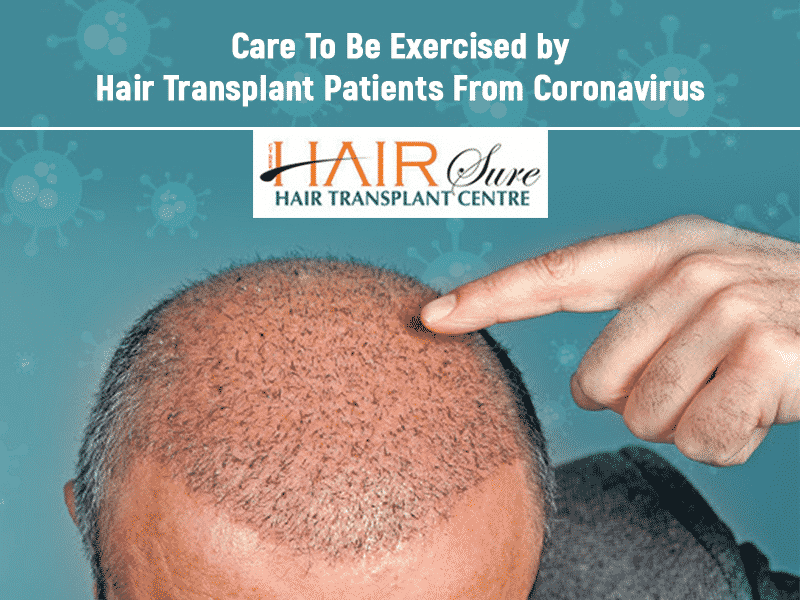 Care to be Exercised by Hair Transplant Patients From Coronavirus