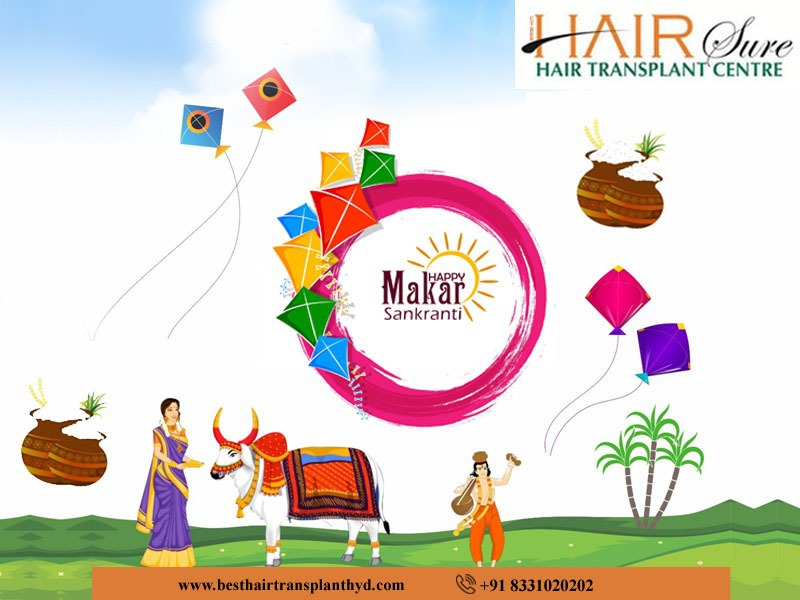 Wishing You & Your Family Lots Of Happiness And Sweet Surprises This Makar Sankranti – Best Hair Transplant Center