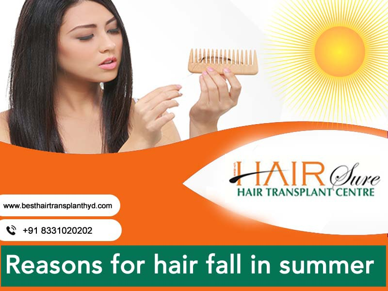 Reasons For Hair Fall In Summer