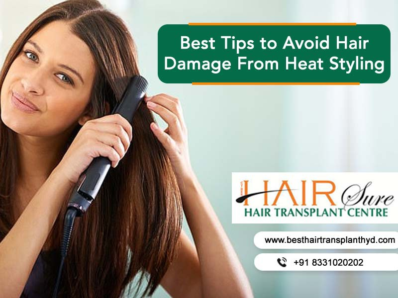 Best Tips to Avoid Hair Damage From Heat Styling