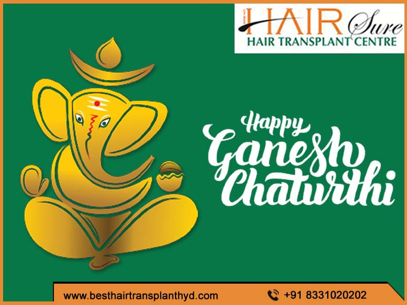 We wish you a happy & prosperous Ganesh Chathurthi – Cyber Hair Sure